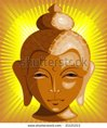 stock-vector-lord-buddha-face-in-yellow-beam-21121213