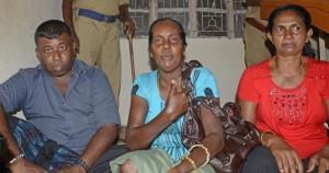 Sri Lankan pilgrims inside Tiruchi airport amidst tight police security on Tuesday. Photo: M.Srinath