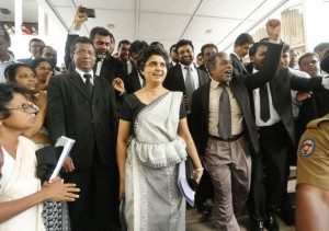 Sri Lankan opposition claims the impeachment of Chief Justice Shirani Bandaranayake was carried out with prejudice.
