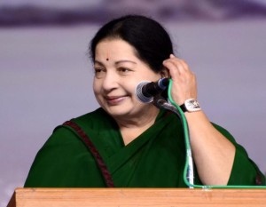 Tamil Nadu Chief Minister Jayalalithaa. File photo