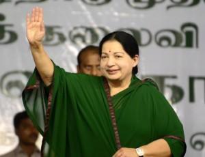 A file photo of Tamil Nadu Chief Minister Jayalalithaa.