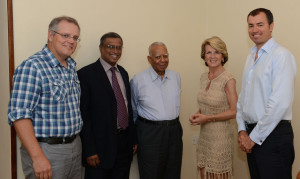 R Sampanthan MP and M. A. Sumanthiran MP meeting (Jan 2013) with an Australian delegation lead by Scott Morrison MP (Member of Parliament for Cook in NSW)-pic courtesy of: Scott Morrison's Flickr page