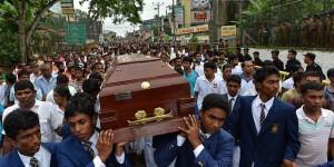 Three men demonstrating over access to drinking water were killed over the weekend in Weliweriya, western Sri Lanka.