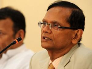 Sri Lanka's foreign minister GL Peiris. AFP.