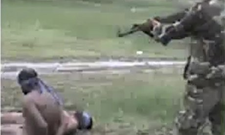 Tamil Tiger allegedly executed