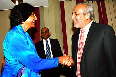 navi-pillay-with-rauf-hakeem-in-sri-lanka