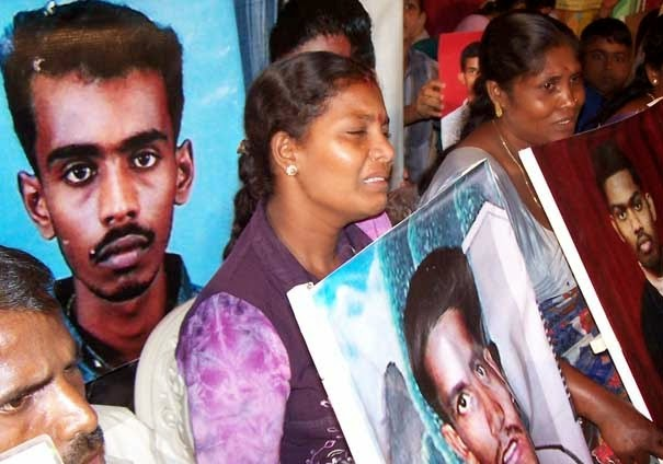 Tamils protest for justice