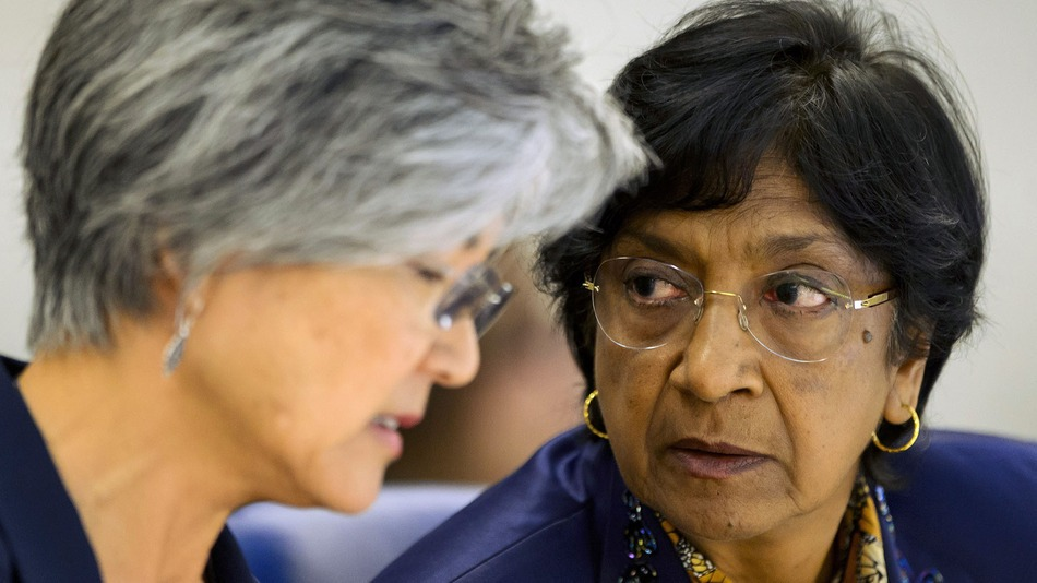 U.N. High Commissioner for Human Rights Navi Pillay at the 21st Special Session  July 23, 2014