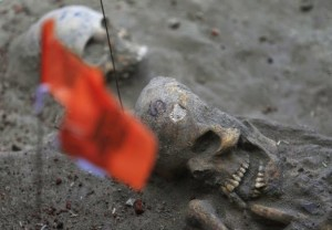 Mass grave, Sri Lanka ( file photo)