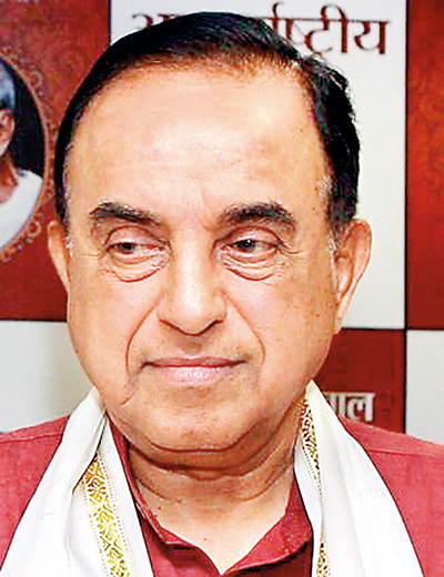 Subramanian Swamy is the new celebrity in Sri Lanka.