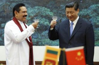 While China's loans to Sri Lanka continue to increase, its financial aid and grants have become minimal [AFP]