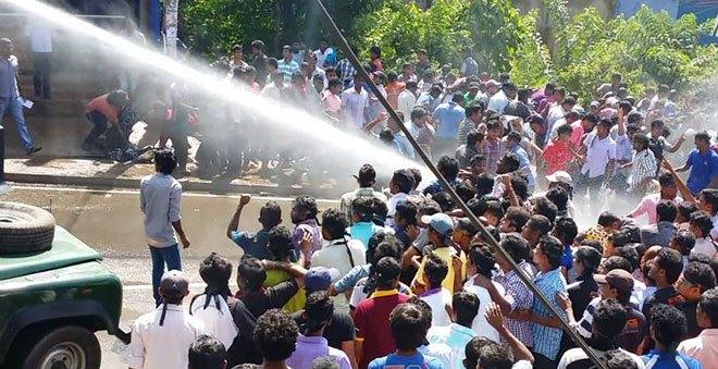 sabarafamuwa-protest