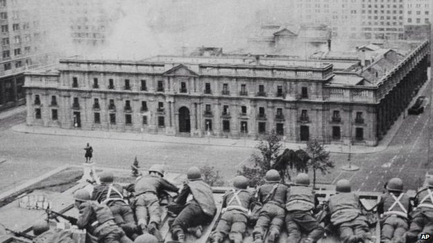 More than 3,000 people were killed and up to 40,000 tortured during General Pinochet's 17-year rule.