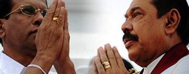 Rajapaksa and Maithripala
