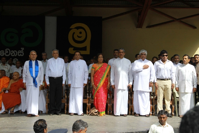 Rajapaksa rule has united the whole opposition in order to reestablish democracy