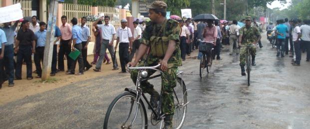 Military in Jaffna