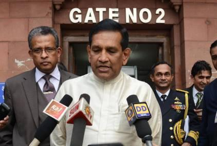 File photo of Rajitha Senaratne.