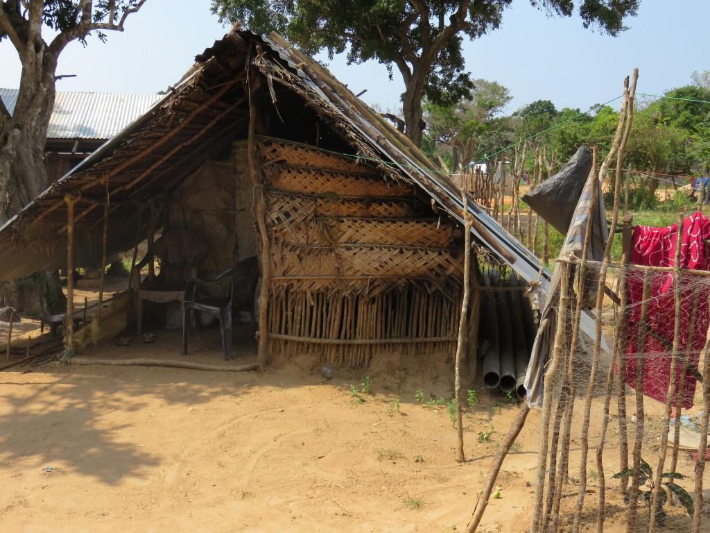 Mullikulam- A cadjan-shed by Ruki