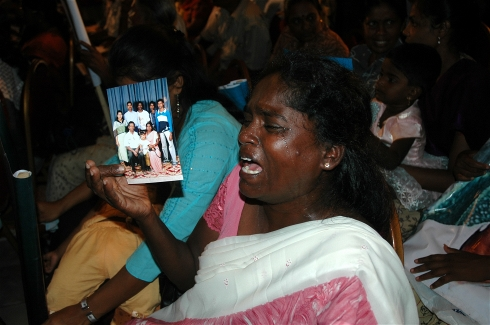 Relatives of the missing still wait for answers more than five years after Sri Lanka's civil war ended; Photo: Amantha Perera