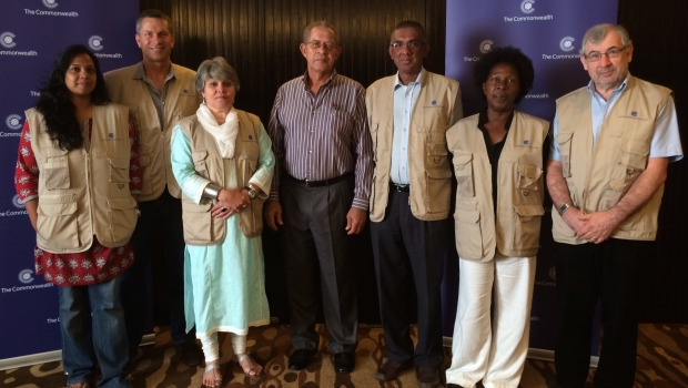 Commonwealth election observers in Sri Lanka