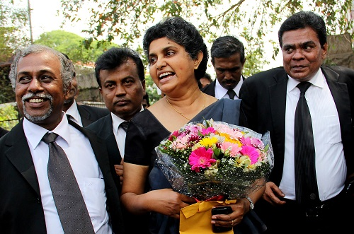 SRI LANKA-POLITICS-JUSTICE