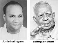 Amirthalingam and Sampanthan