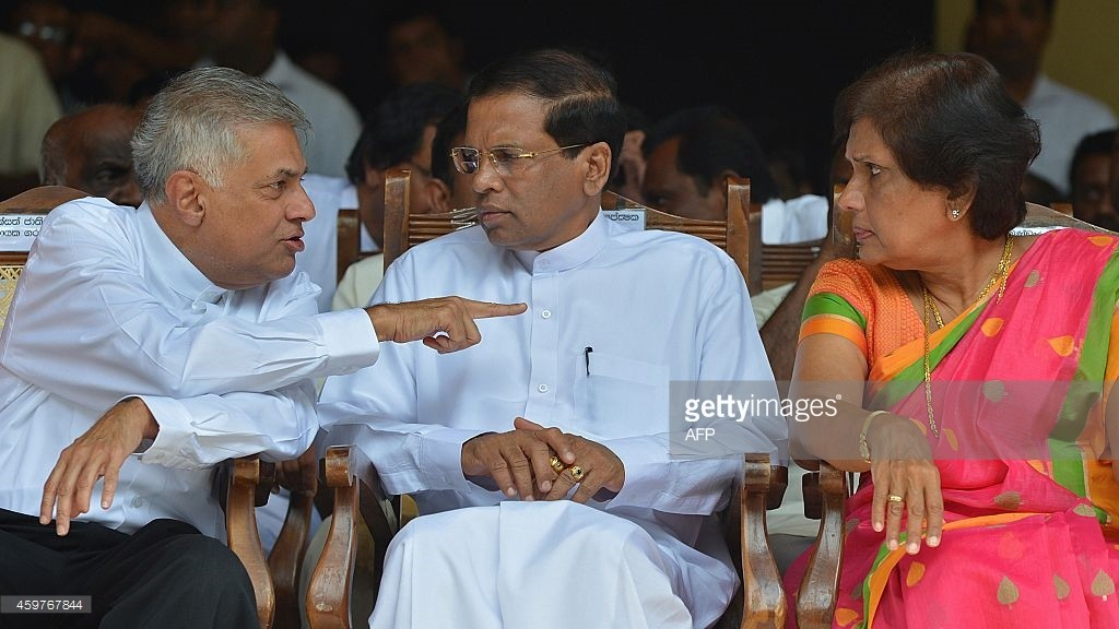Ranil Wikremasinghe runs the risk antogonising the SLFP in theparliament - Credit: ISHARA S.KODIKARA / stringer
