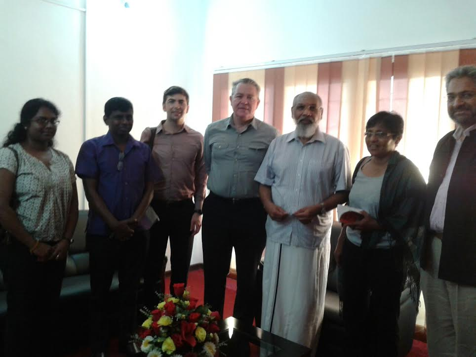 Sri Lanka Solidarity Delegation met Chief Minster Vigneshwaran in Jaffna