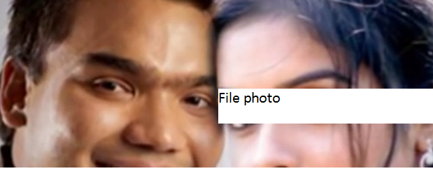 A file photo of Namal Rajapaksa with an Indian films star