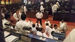Rajapaksa's protest