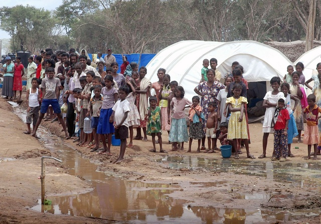 IDPs in Sri Lanka ( 2009)