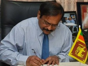 B.M.U.D. Basnayake, who is he working for?