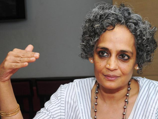 By saying that 'caste is class,' the Left has checkmated itself and made itself irrelevant, says writer-activist Arundhati Roy. Photo: K. Pichumani