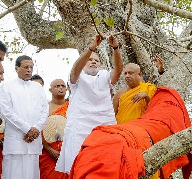 President Sirisena and Prime Minister Modi