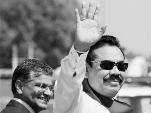 Rajapaksa: will make a come back?