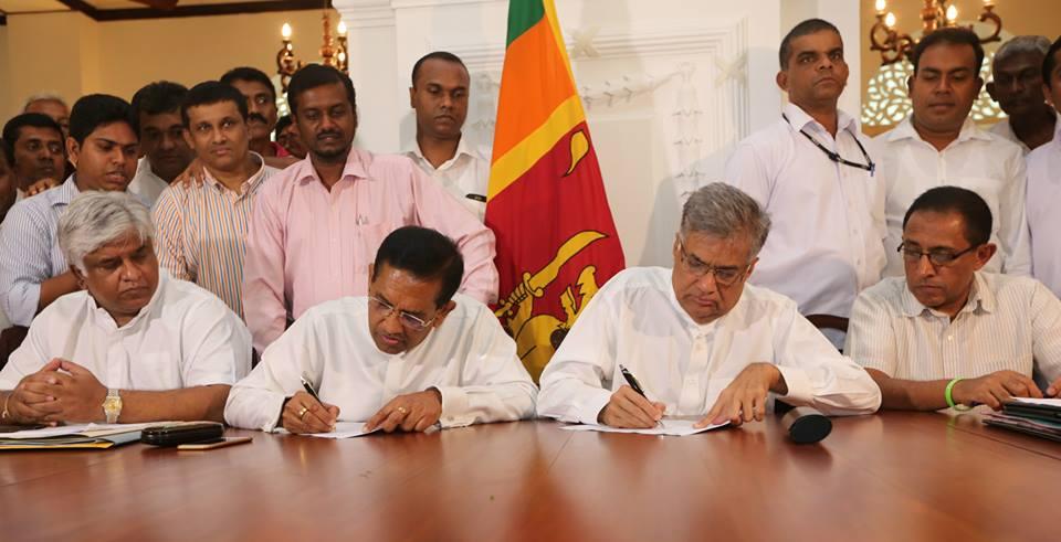 A broad Coalition to fight Rajapaksa  menace