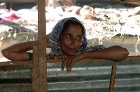 IDP woman (Photo: Amantha Perera/IRIN)