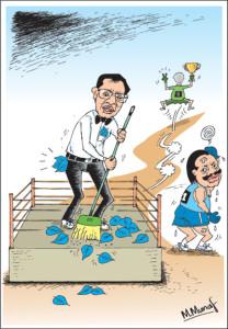 Cartoon form the Sunday Times