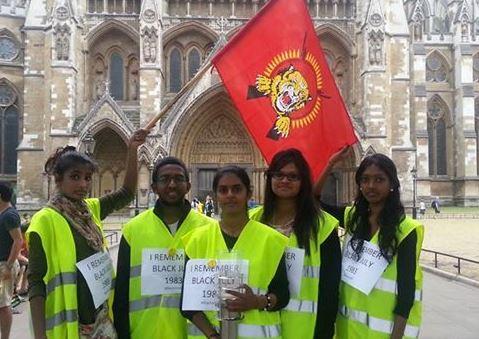 A proLTTE Tamil Diaspora group