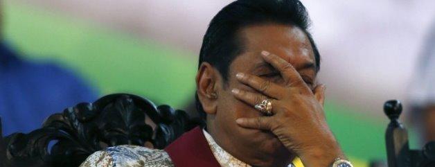 written-stars-president-mahinda-rajapaksa-reacts-during-final-rally-sri-lanka-president