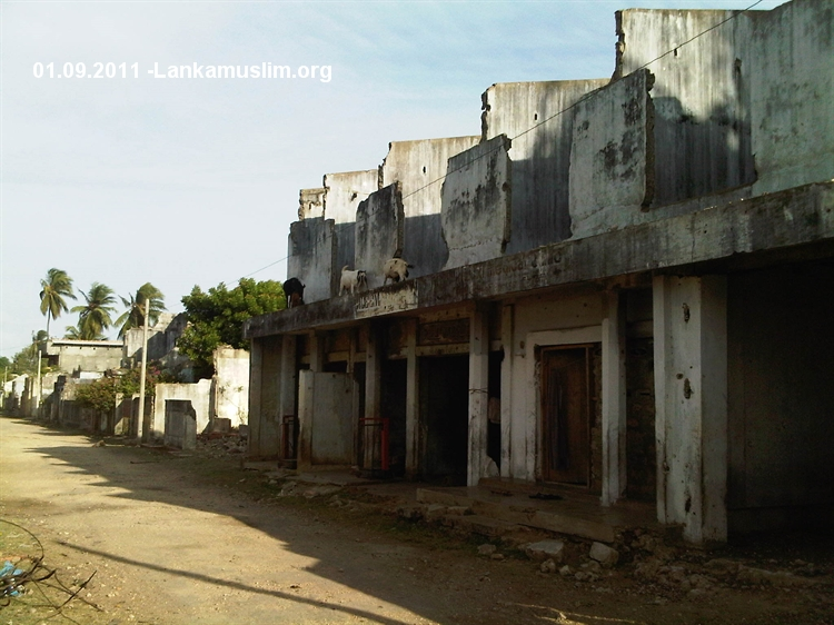Jaffna Muslim villages remain destroyed