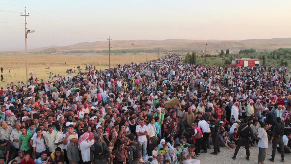 The Syrian exodus