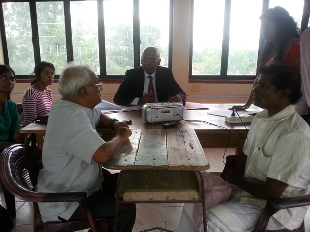 Missing Person Commission in Jaffna