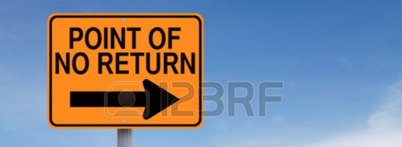 28633524-conceptual-road-sign-indicating-point-of-no-return