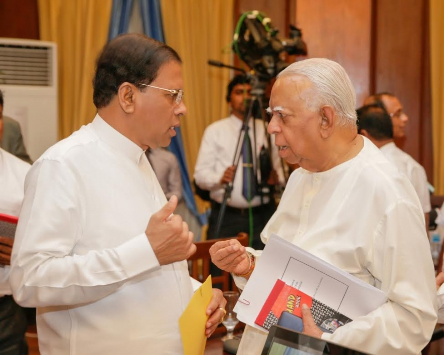 President Sirisena and coalition parties has duty to address the Tamil issues