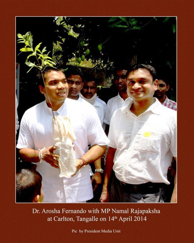 With Namal R.