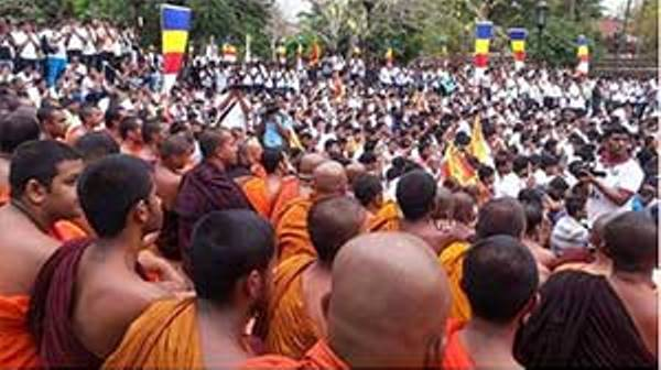 Sinha Le meeting at Kandy  held on 23 January 2016