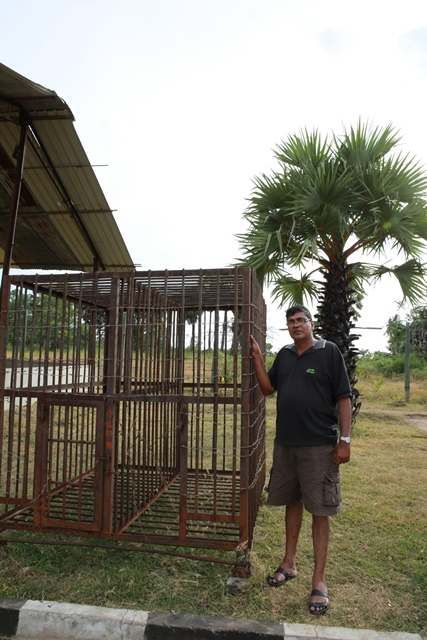 LTTE prison cell (c) Sunanda Deshapriya