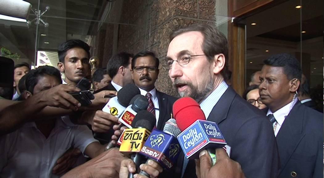 Zeid in Colombo