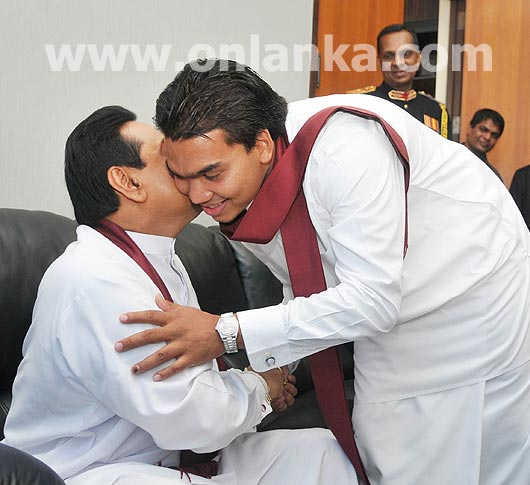 Is it  Namal Rajapaksa who is behind the murder?